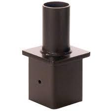Square Pole Tenon Adaptors