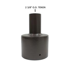 Round Pole Tenon Adaptors