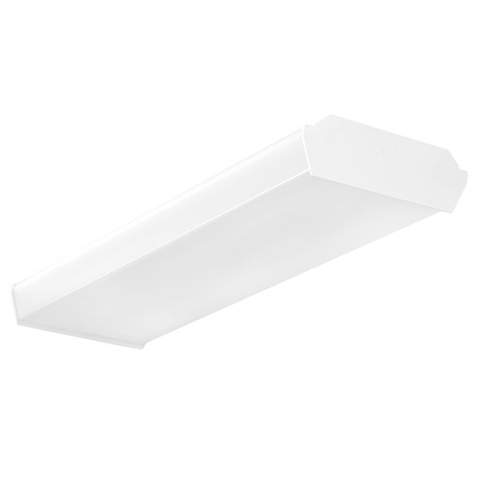 Rab Lighting Led Wrap: Sustainable 36W, 50W 4' Surface Wrap For LED Lighting W