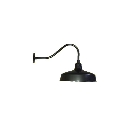 "23"" Small Barn Light with 14"" Shade to Mount on Walls and ..."