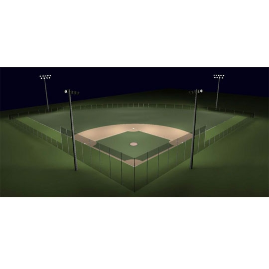 200 Foot Baseball Field Lights Little League Baseball