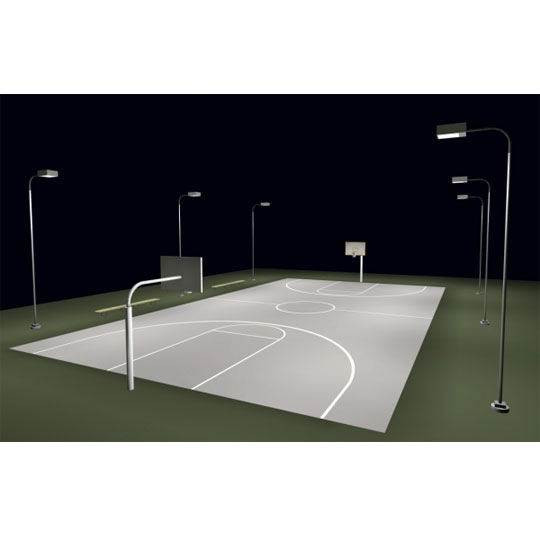 Basketball Full Court Lighting System