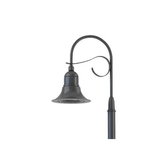 Light Pole Led Fixtures: LED Hook Mount Lighting Pole Kit