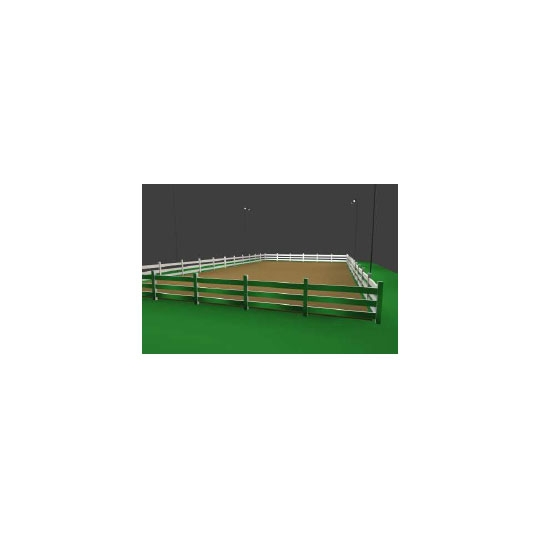 Roping Arena Lights: 50' X 100' Horse Arena Lights