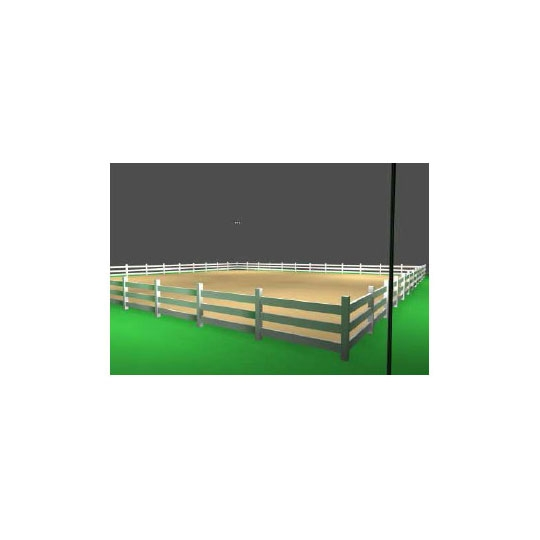 100' x 100' Horse Arena Steel Pole Light Package