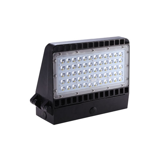 Max Light Led Wall Pack: Modern LED Wallpack 5000K 75W/100W/150W In Bronze From LED