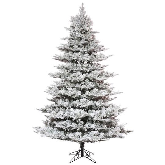 Flocked Kiana Christmas Tree