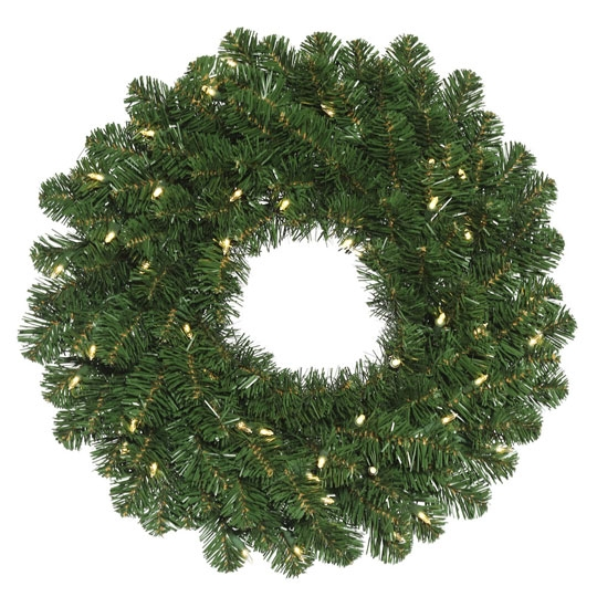 Oregon Fir Wreath (Pre-Lit)