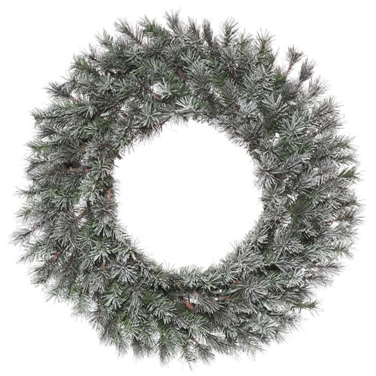 Frosted Lacey Wreath