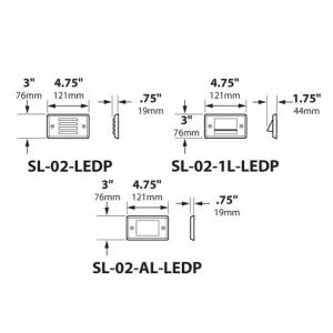 SL-02-LEDP_dimensions