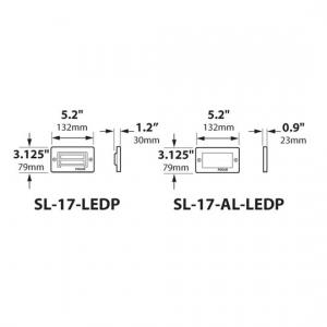 SL-17-LEDP_dimensions