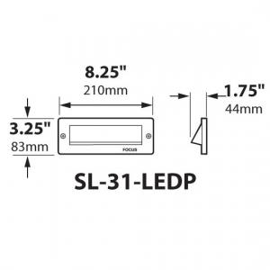SL-31-LEDP_dimensions