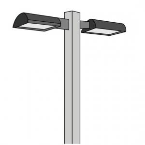 led parking lot lighting kits. Black Bedroom Furniture Sets. Home Design Ideas