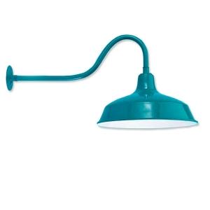 Aluminum Copper 14 24 Gooseneck Barn Light For