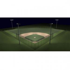 200 Foot Baseball Field Lights Little League Baseball