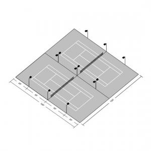 12 Light Tennis