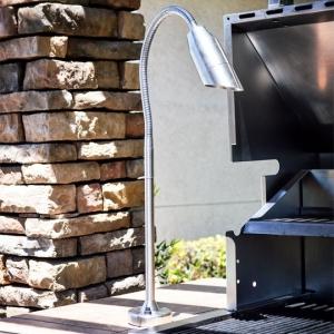 12v 120v Stemmed Bullet Bbq Light For Outdoor Grill Usage