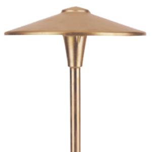 Large Brass China Hat
