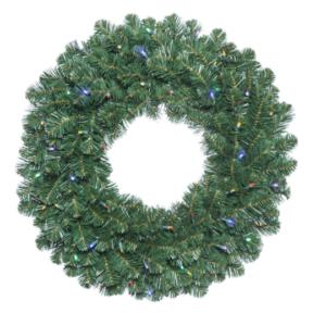 Oregon Fir Wreath, Pre-lit