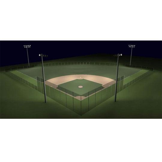 200ft Radius Baseball Lighting Kit