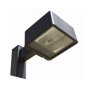 20' Square Straight Pole Single Fixture Light Package 175W MH Type III
