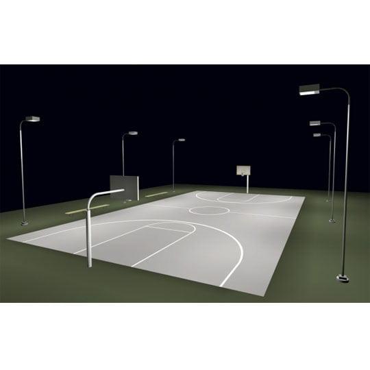 Full Court Led Lighting Lights