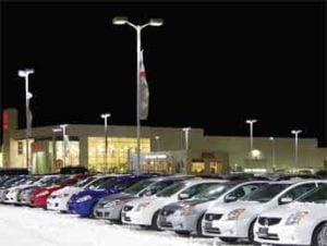Car Dealer Parking Lot Light Fixtures