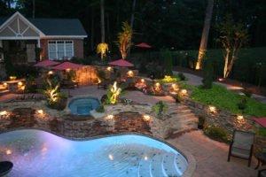 Residential Landscape Lights