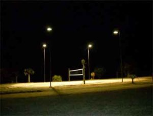 Sample Volleyball Court Lighting Project