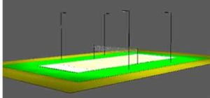 Volleyball Court Lights Photometric