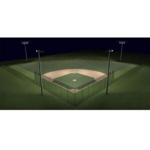 200ft Radius Little League Baseball Lighting Kit
