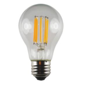 LED A19 Edge Filament