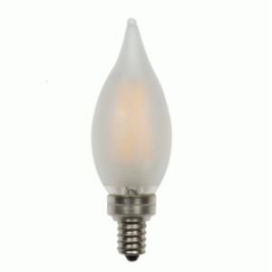 Frosted LED Candelabra Edge