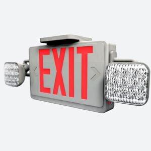 LED Exit/Emergency Combo