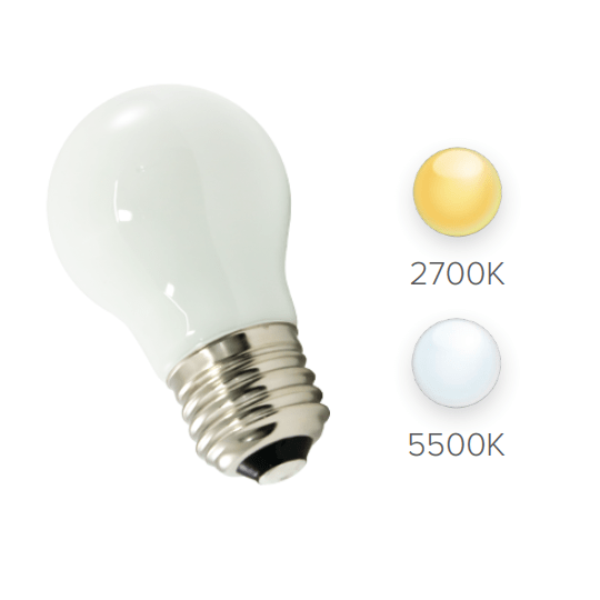 A15 LED Bulbs (25-Pack) Frosted, E26 Base