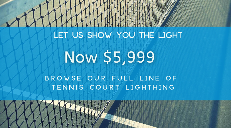 Lighting For Tennis Courts Residential Commercial Tennis Court Lighting
